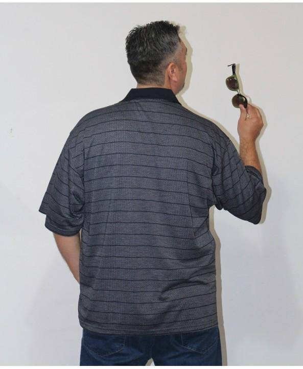 ERKEK T-SHIRT POLO YAKA SİYAH (model 4) - CM