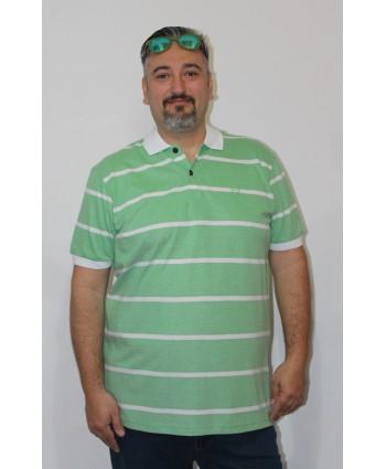 ERKEK T-SHIRT POLO YAKA YEŞİL (model 6) - N